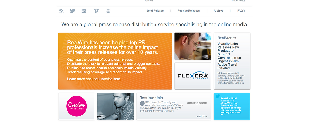 Top Press Release Distribution Services For SEO