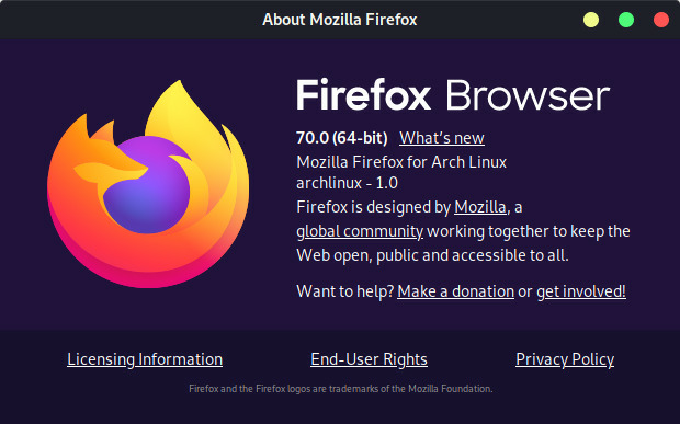 Firefox Browser themes