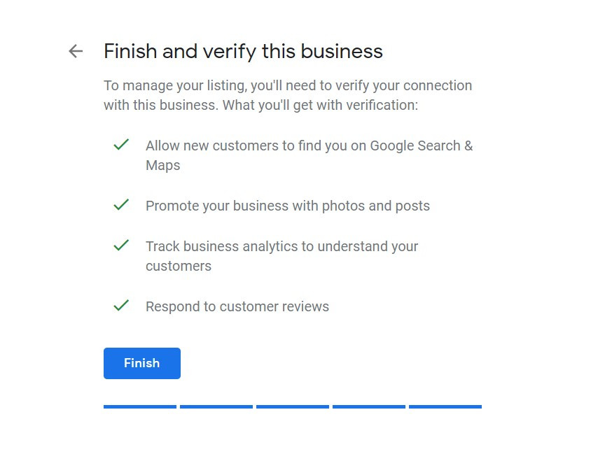 GMB verify business