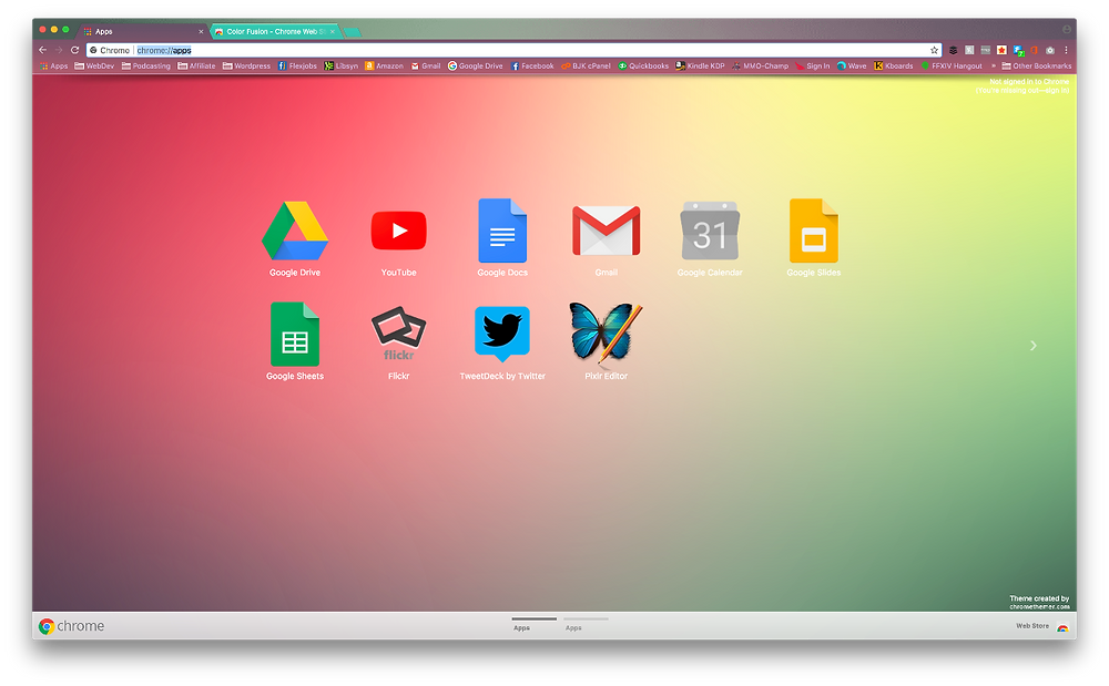 Chrome Themes in 2021 Color Fusion