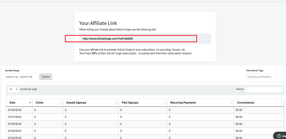 article forge affiliate link