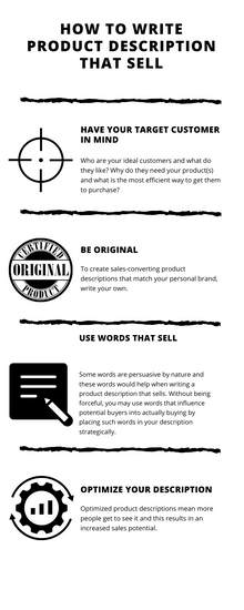 How To Write Product Description That Sell