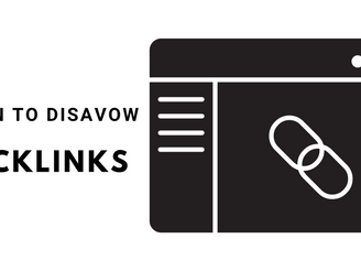 When To Disavow Backlinks