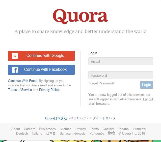 free backlinks quora