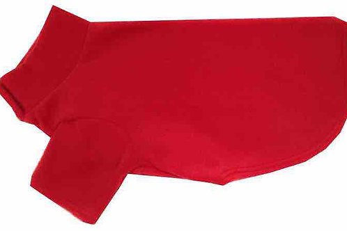 Small Fleece Dog Coat (RED)