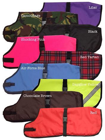 Dog Coats, Made to measure dog coats, bespoke dog coats UK
