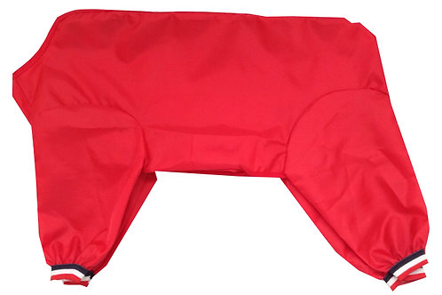 Medium Dog Trouser Suit (RED)