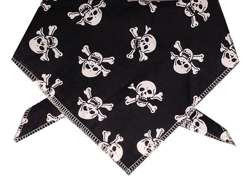 Pirate Design Dog Bandana