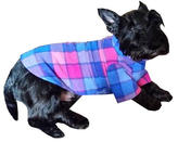 Warm Fleece Dog Coats in a wide rnage of Sizes and Colours