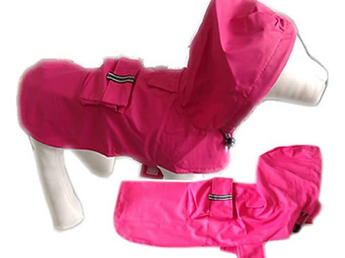 Pink Dog Coat, Waterproof Dog Coats, Lightweight Dog Coats, Dog Clothing, UK