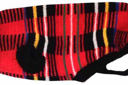 Red Tartan Dog Sweater, Re Tartan, Dog Jumper, Winter Jumper, Winter Clothing, Dogs