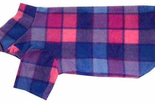 Medium Fleece Dog Coat (LILAC)