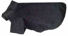 Fleece Dog Coats UK, Navy Fleece Dog Coat, UK Dog Clothing