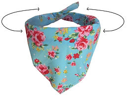 Luxury dog bandanas, Dog neck scarfs, dog neckerchief, dog clothing uk