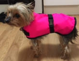 Pink Waterproof Warmer Dog Coat