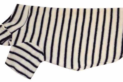 Large Fleece Dog Coat (STRIPES)