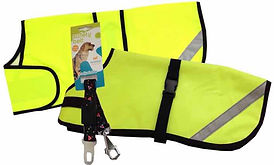 Safety Dog Coats, Waterproof Dog Coats, Car Safety
