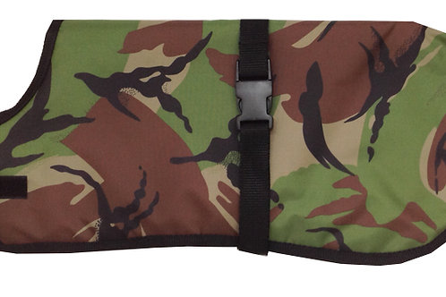 Large Dog Coat - Camouflage Dog Coat