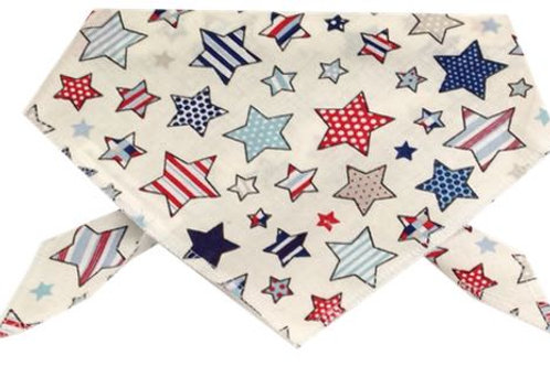 Cotton Dog Bandanas, Quality Luxury Dog Bandanas, UK Dog Clothing, Dog Clothes, UK