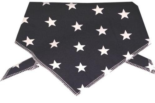 Blue Star Dog Bandana, Blue Star Dog Neckerchief, Dog Scarf, Bandanas UK
