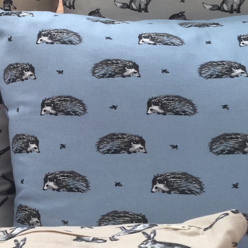 Hedgehog Cushions, Animal Cushions, Cushion Covers UK, Cushions, Handmade Cushion deals, Handmade Cushions UK, Northampton