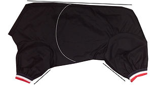 dog Trouser Suits, Dog Suit Measurements, All in One Dog Suits