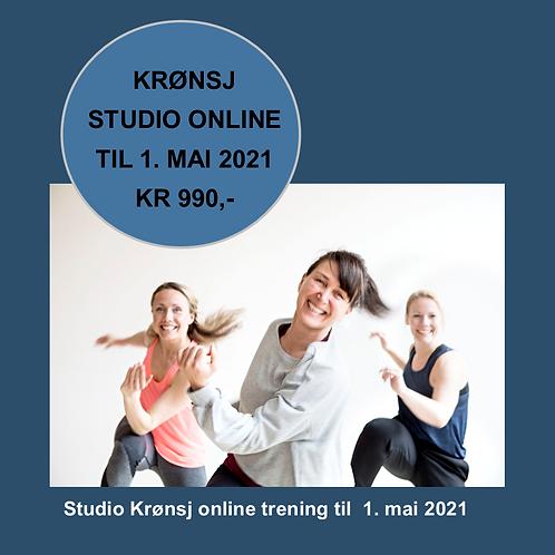 Kjøp ONLINE trening til 1. mai