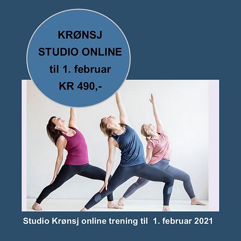 Kjøp ONLINE trening til 1. februar