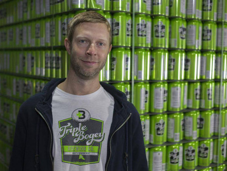 Beer for golfers builds a head of steam