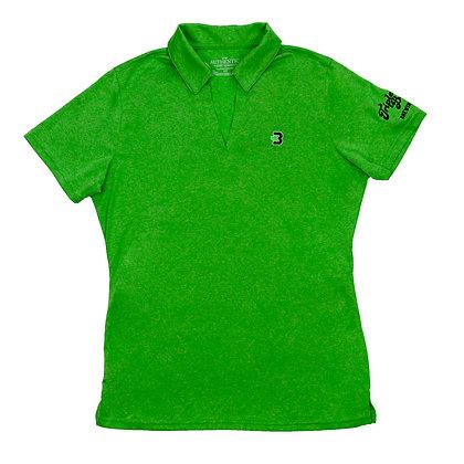 Ladies Green Polo