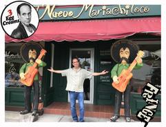 Vin Morrone visits EL NUEVO MARIACHI LOCO!