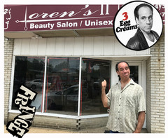 Vin Morrone visits LOREN'S HAIR SALON in Hammonton! Visit Loren's in person or call for an appointment: 609-891-1007