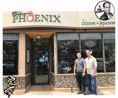 Vin Morrone visits EASTERN PHOENIX in Hammonton! (Pictured: Allen of Eastern Phoenix, Vin Morrone)