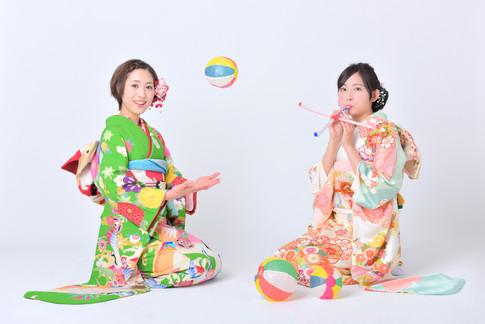 成人袴・成人振袖・成人記念撮影