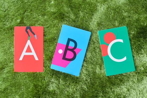 アルファベットカード