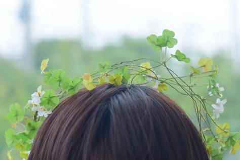 クローバーの花冠