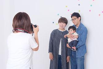 家族写真・データ渡し・バースデイ・成人前撮り・小平市・フォトスタジオ