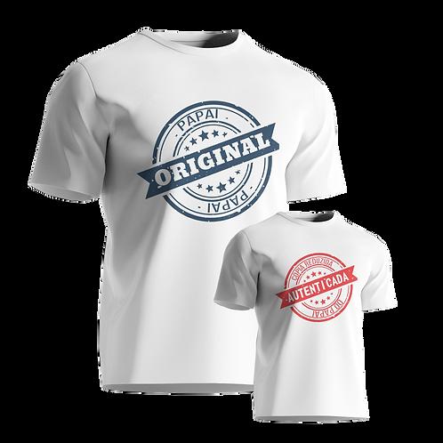 Camiseta/Body - Pai e Filho  Copia Original