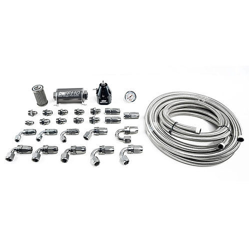 X2 Series Pump Module -8AN CPE Plumbing Kit for 2011-19 Ford Mustang