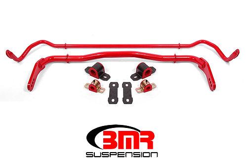 Sway bar kit with bushings, front (SB114H) and rear (SB115H)