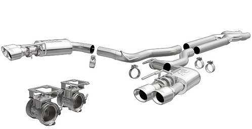 MAGNAFLOW COMPETITION MUSTANG 5.0L CAT BACK EXHAUST
