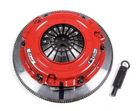 McLeod RXT Twin Disc Clutch Kit, Steel Flywheel, LS-Series