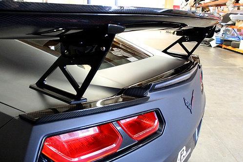 APR GTC-500 Corvette/C7 SPEC W/ Spoiler Delete, Carbon Fiber Wing