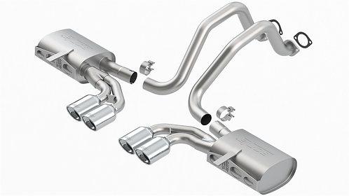 Borla S-Type Axle-Back Exhaust C5 Covette