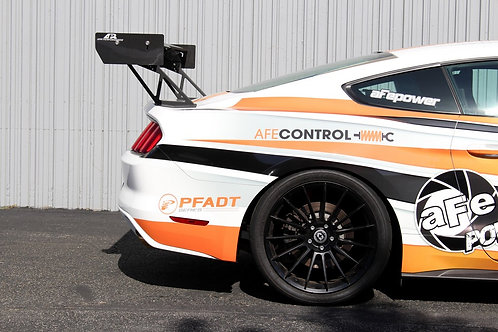 """APR GT-250 Ford Mustang Spec 67"""" Wing, Carbon Fiber Wing"""