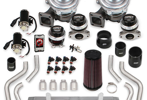 STS Turbo C6 LS3 Remote Mounted Twin Turbo System with Hand-Held