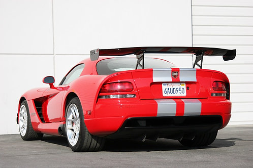 """APR GTC-500 Viper Coupe Spec 74"""" , Carbon Fiber Wing"""