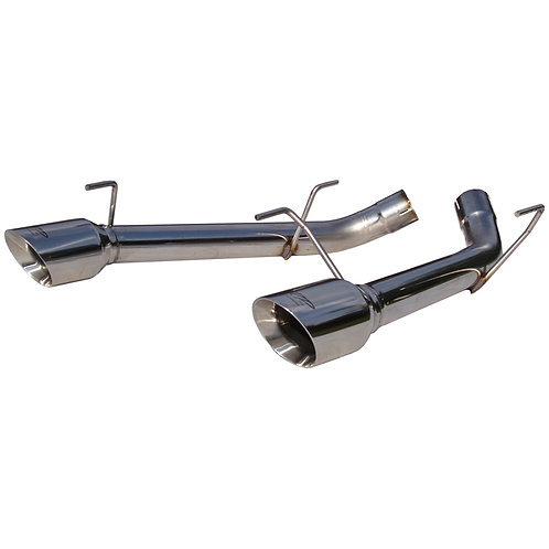 MBRP 2005-10 Mustang 5.0L Axle-Back Exhaust System, Stainless