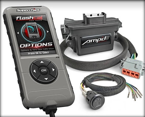 Ford Flashcal for + Amp'D Throttle Booster Kit with Power Switch