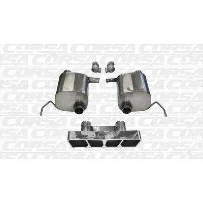 Corsa XTREM Axle Back Exhaust System C7 Corvette
